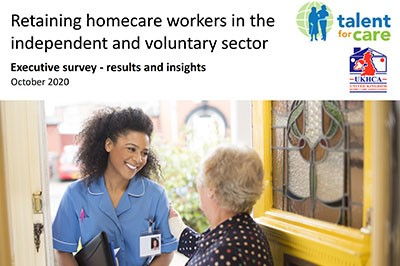Improving care worker retention: executive survey report, in partnership with the UKHCA