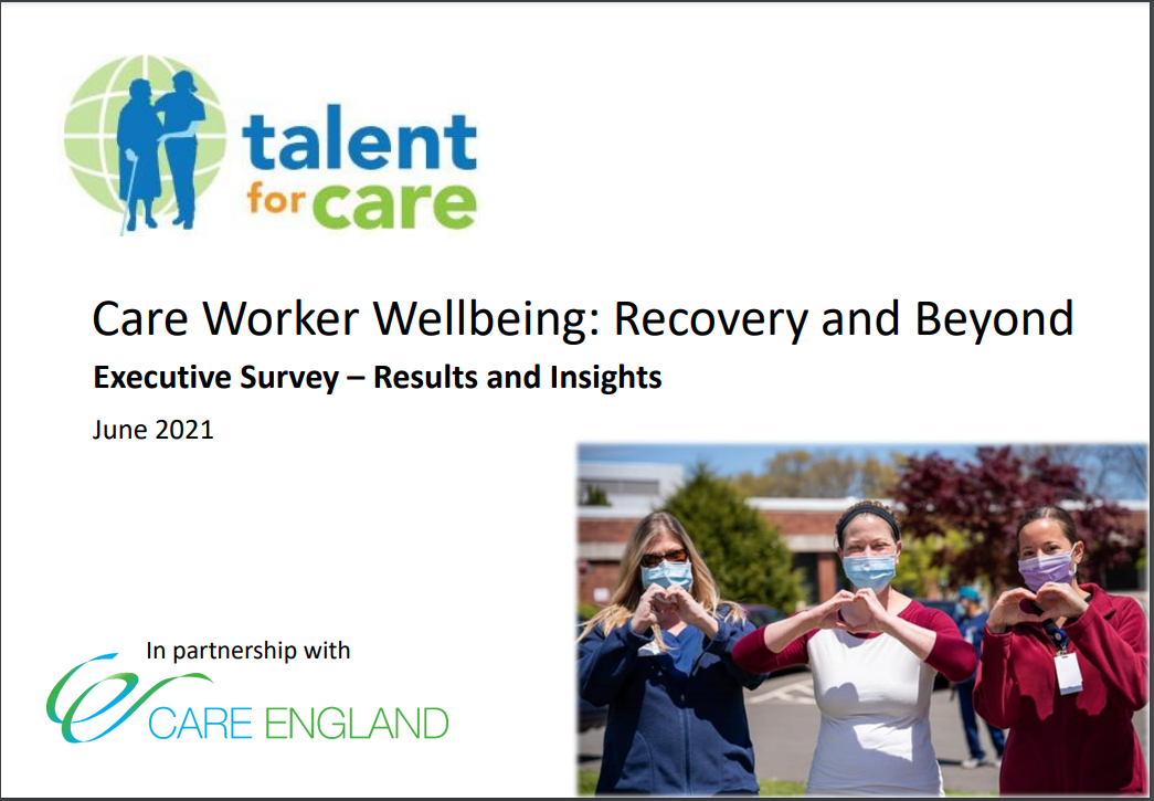 Care Worker Wellbeing: Recovery and Beyond