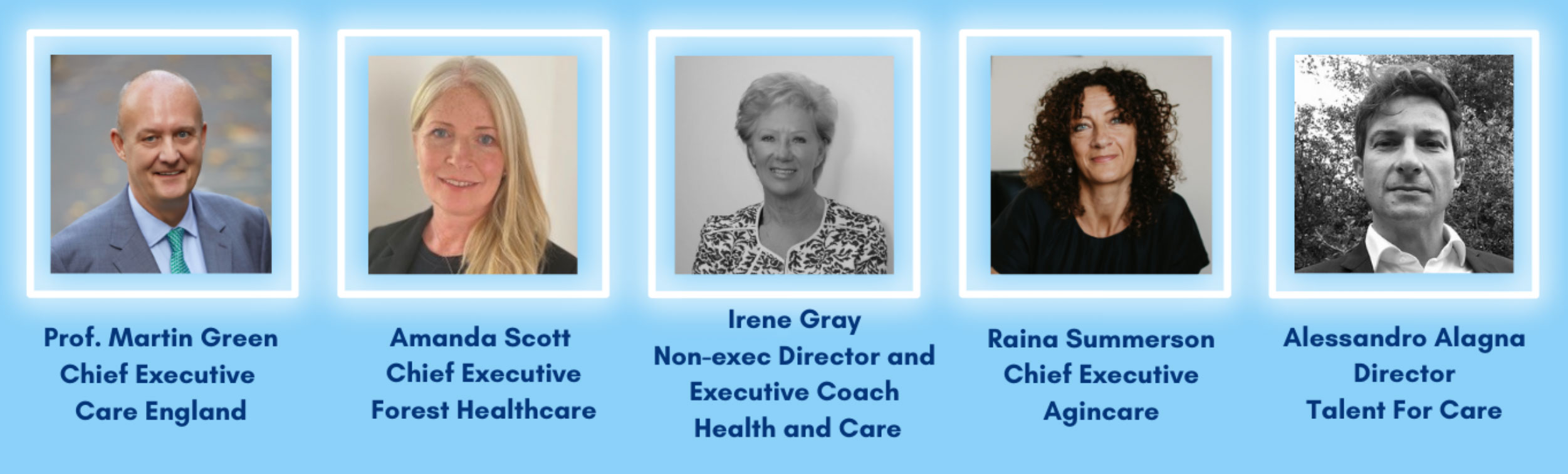 Talent for Care - Guest Panel